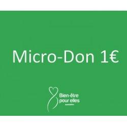Micro-don 1€ à BEPE