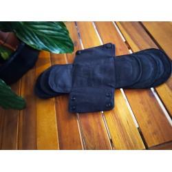 Protège slip et serviettes hygiéniques lavables, 100% coton bio gots oekotex, Change les Règles®